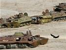 Sovětskou invazi do Afghánistánu dnes připomínají jen stovky vraků armádní techniky.