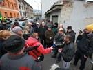 Na diskusi o budoucnosti Předlic přišly asi tři desítky místních.