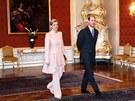 Prezident Miloš Zeman přijal na Pražském hradě britského prince Edwarda s