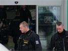 Pra�sk� policie v pond�l� dopoledne obsadila dva autosalony dealera NH Car.