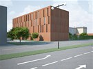 Představa architekta, jak bude celý komplex i s přistavěným hotelem vypadat po