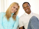 Lindsey Vonnová a Tiger Woods