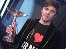 Vojta Dyk získal Anděla v kategorii zpěvák roku.
