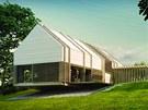 Soběstačný dům architektů Miroslava Stacha (studio Balance idea) a Jany