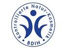BDIH - nejstarší německá značka. Vlastní ji např. Weleda, Logona, Sante, Primavera, Dr. Hauschka, Lavera.