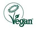Vegan - bez živočišných produktů. Takto označená bývá veganská kosmetika, např.