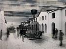 Návrhy na Železniční muzeum Národního technického muzea v objektu bývalého