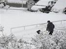 V noci na 19. března zasypal sníh i Prahu, ale větší potíže v dopravě...