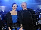 Michael Kocáb s dcerou Natálií