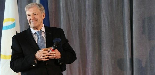 Jan Kode� coby laureát ceny Klubu fair play p�i �eském olympijském výboru