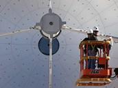 Příprava projektu ALMA v Chile (12. března 2013).