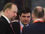 Exministr Karel Březina na sjezdu ČSSD v ostravském Gongu. Ve středu ho čeká už...
