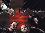 Obálka komiksu Banda 1: Karty jsou rozdaný (The Boys 1: Name of the Game)