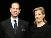 Princ Edward na zkoušce hry Králova řeč v pražském Divadle pod Palmovkou
