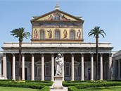Bazilika svatého Pavla za hradbami v Římě