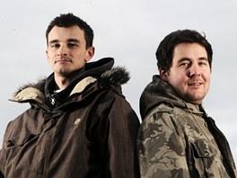 Filmaři Jan Minol (vlevo) a Jan Dojčan