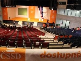 Bývalý plynojem Gong zaplní stovky sociálních demokratů. (14. března 2013)