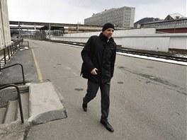 Předseda představenstva společnosti Truck Development Marek Galvas prochází