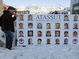 Volební kampaň v Grónsku