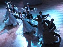 Předtančení na Andělském plese v Žitě