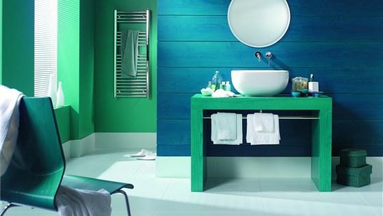 Kuchyně i koupelny jsou místnosti, kde jsou stěny v interiérech vystaveny