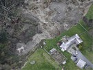 Sesuv půdy na ostrově Whidbey Island (27. března 2013)