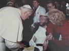Julius Varga s papežem Janem Pavlem II.