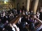 Křesťané oslavili velký pátek Kristovou cestou utrpení.