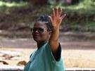 Beatrice Mtetwaová po propuštění z vězení (20. března 2013)
