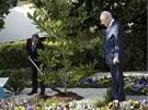 Barack Obama se �imonem Peresem v Izraeli (20. b�ezna 2013)
