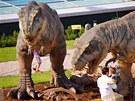 DinoPark Harfa: T-Rex