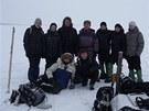 Gunther Kletetschka (v horní řadě třetí zleva) dorazil na Ural necelé tři týdny