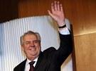 Prezident Miloš Zeman vystoupil na sjezdu Strany práv občanů (23. března 2013).