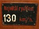 Rychlost pro většinu tehdejších československých vlaků naprosto nedosažitelná.