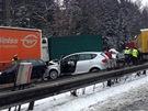Hromadn� nehoda na D1 (29. b�ezna 2013)