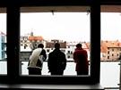 Nové byty v Machoňově pasáži nabízejí hezký výhled. Zatím jsou ale bez