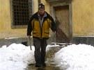 Dolito. Odledováno a můžeme otvírat. Grabštejn má i ve sněhu své kouzlo.
