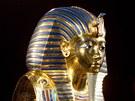 """Výstava """"Tutanchamon - jeho hrob a poklady"""" na pražském holešovickém Výstavišti."""