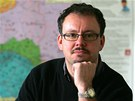 Vladimír Bružeňák, učitel historie na gymnáziu v Sokolově.