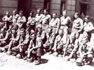 Americká armáda na novém náměstí v Sokolově v květnu 1945.
