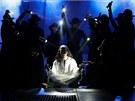Fotografie ze zkoušky baletu Jesus Christ Superstar, který měl mít v pátek 29.