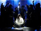 Fotografie ze zkou�ky baletu Jesus Christ Superstar, kter� m�l m�t v p�tek 29.