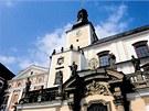Klášterní kostel sv. Vojtěcha v Broumově, prelatura benediktinského kláštera.
