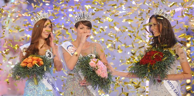 eskou Miss 2013 se stala Gabriela Kratochv&#237;lov&#225;, eskou Miss World je Lucie