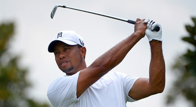 Tiger Woods na turnaji v Orlandu