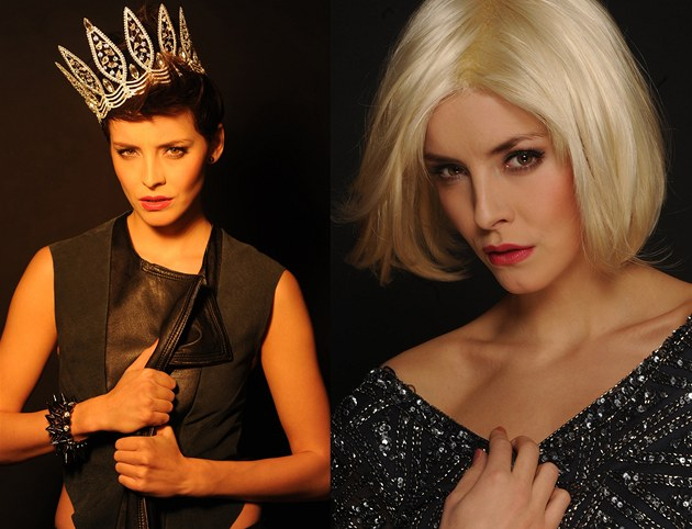 esk&#225; Miss 2013 Gabriela Kratochv&#237;lov&#225; si vyzkouela del&#237; blond &#250;es. 