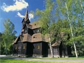 Kostel sv. Bed�icha v B�l�.