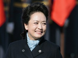 První dáma Číny Pcheng Li-jüan během návštěvy Ruska (24. března 2013)