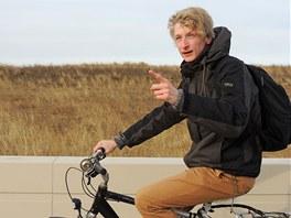 Pětadvacetiletý student brněnské Masarykovy univerzity Tomáš Černohous (na