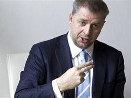 Ministr zemědělství Petr Bendl (29. března 2013)